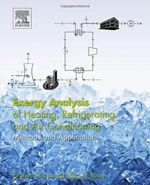 Copertina Exergy analysis of heating, refrigerating and air conditioning : methods and applications