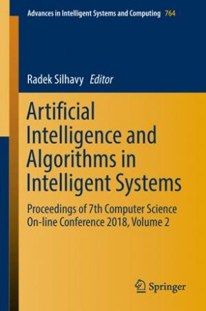 Book cover Artificial Intelligence and Algorithms in Intelligent Systems