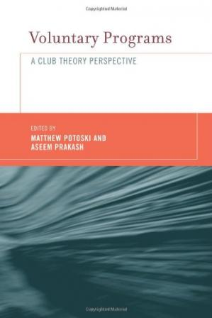 Book cover Voluntary Programs: A Club Theory Perspective