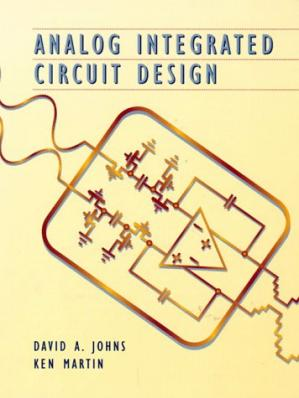 Book cover Analog Integrated Circuit Design