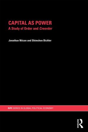 Book cover CAPITAL AS POWER
