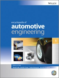 Book cover Encyclopedia of Automotive Engineering
