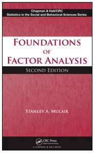 Sampul buku Foundations of Factor Analysis, Second Edition