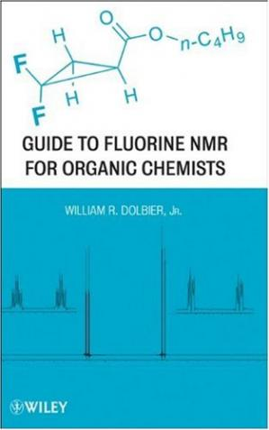 Book cover Guide to Fluorine NMR for Organic Chemists