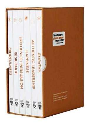 غلاف الكتاب HBR Emotional Intelligence Boxed Set (6 Books)