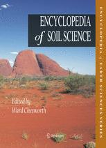 表紙 Encyclopedia of Soil Science