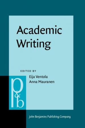 Sampul buku Academic Writing: Intercultural and Textual Issues