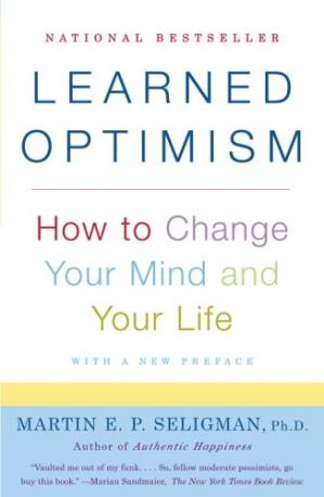 Book cover Learned Optimism: How to Change Your Mind and Your Life