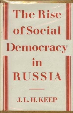 Book cover The Rise of Social Democracy in Russia.