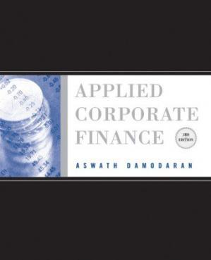 Buchdeckel Applied Corporate Finance, Third Edition