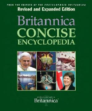 غلاف الكتاب Britannica Concise Encyclopedia