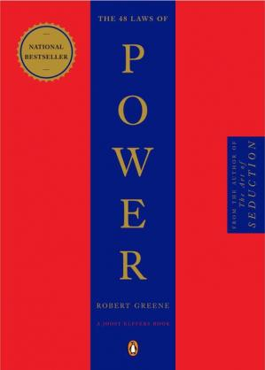 Book cover The 48 Laws of Power