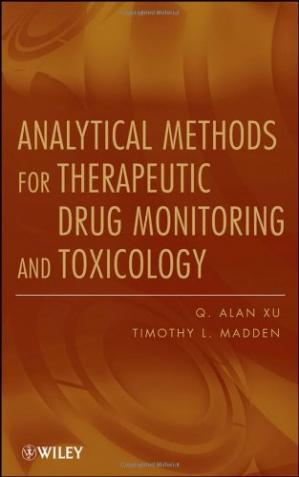 La couverture du livre Analytical Methods for Therapeutic Drug Monitoring and Toxicology