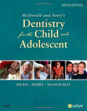 Book cover Mc: Donald and Avery Dentistry for the Child and Adolescent
