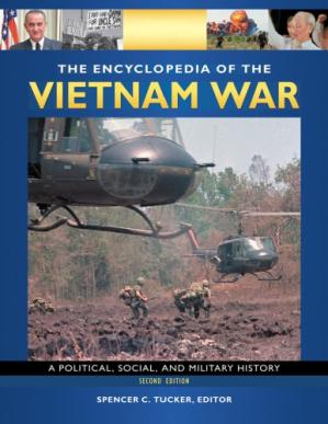 Book cover The Encyclopedia of the Vietnam War: A Political, Social, and Military History