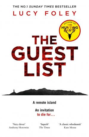 Sampul buku The Guest List