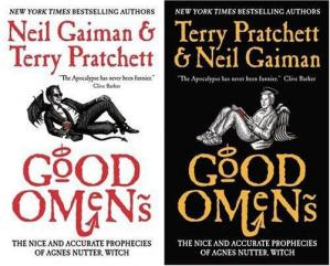 Sampul buku Good Omens: The Nice and Accurate Prophecies of Agnes Nutter, Witch