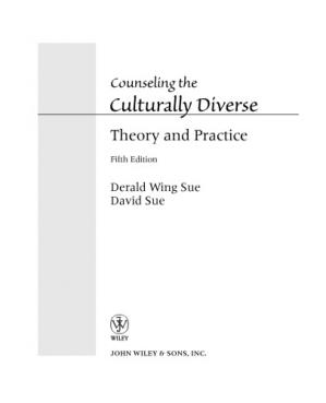 Couverture du livre Counseling the Culturally Diverse: Theory and Practice