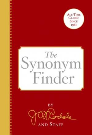 Book cover The Synonym Finder