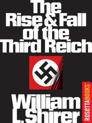 Copertina The Rise and Fall of the Third Reich: A History of Nazi Germany