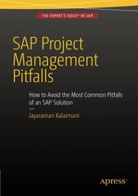 ปกหนังสือ SAP Project Management Pitfalls: How to Avoid the Most Common Pitfalls of an SAP Solution