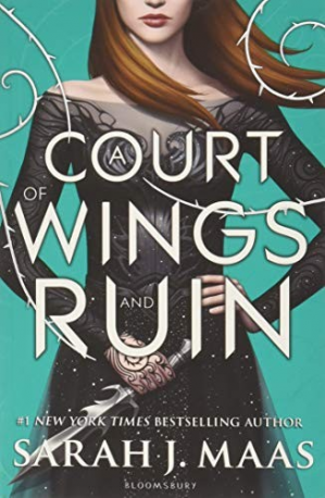 Korice knjige A Court of Wings and Ruin