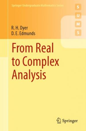 Book cover From real to complex analysis