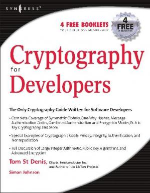 Book cover Cryptography for Developers