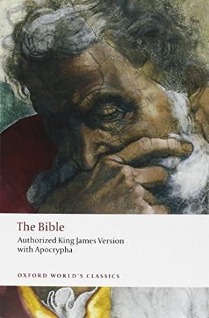 पुस्तक कवर The Bible : Authorized King James Version