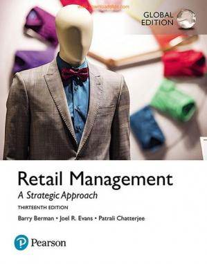 Book cover Retail Management: A Strategic Approach, Global Edition