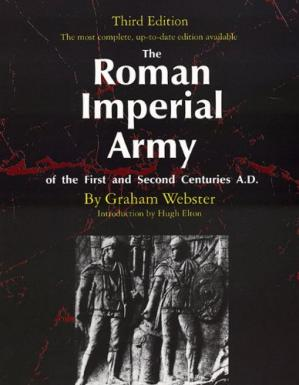 A capa do livro The Roman Imperial Army of the First and Second Centuries A.D.