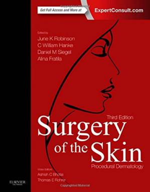 Portada del libro Surgery of the Skin: Procedural Dermatology