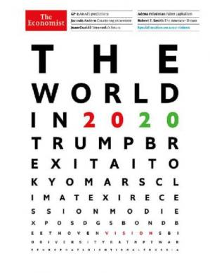Book cover The World in 2020