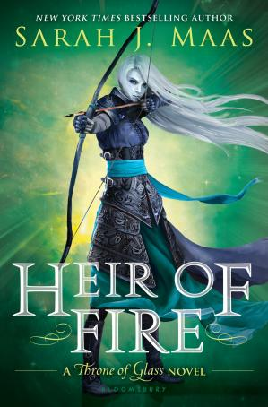Book cover Heir of Fire