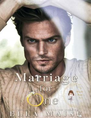 Book cover Marriage for one