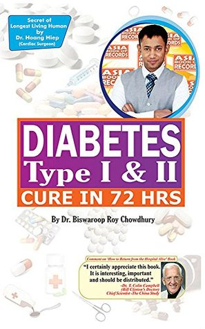 表紙 Diabetes Type I & II - Cure in 72 Hrs