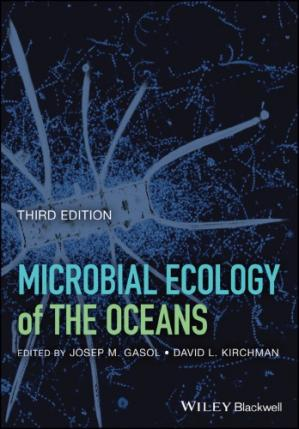 Book cover Microbial Ecology of the Oceans