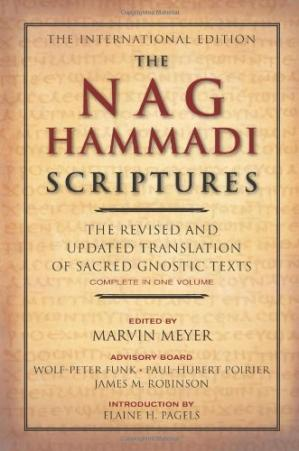 Book cover The Nag Hammadi Scriptures: The Revised and Updated Translation of Sacred Gnostic Texts Complete in One Volume
