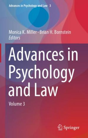 Book cover Advances in psychology and law
