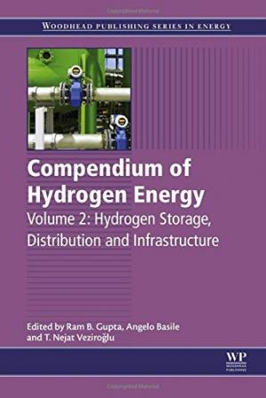 书籍封面 Compendium of hydrogen energy. / Vol. 2, Hydrogen storage, distribution and infrastructure