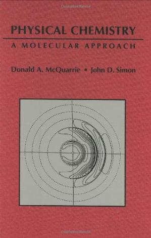 Book cover Physical Chemistry: A Molecular Approach
