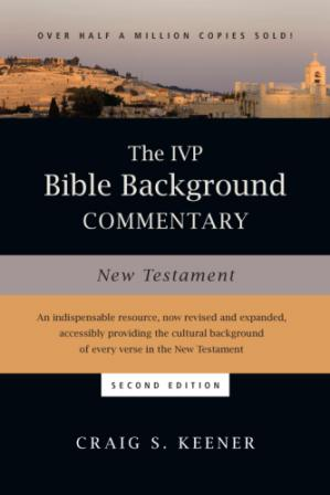 Book cover The IVP Bible Background Commentary: New Testament