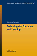 Book cover Technology for Education and Learning