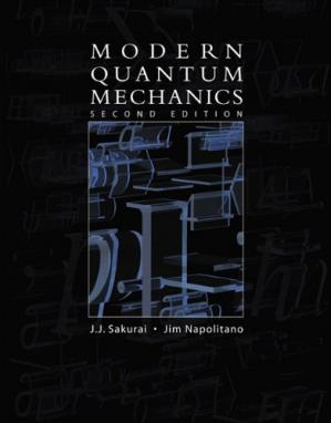Book cover Modern Quantum Mechanics (2nd Edition)