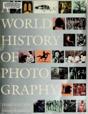 Book cover A World History of Photography (3rd Edition)