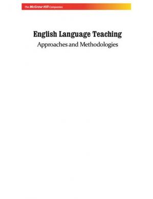 Book cover English Language Teaching: Approaches And Methodologies
