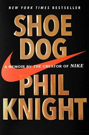 书籍封面 Shoe Dog: A Memoir by the Creator of Nike