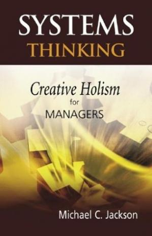 पुस्तक कवर Systems Thinking: Creative Holism for Managers