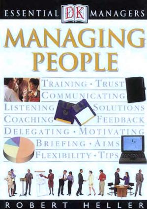 Book cover Managing People (DK Essential Managers)