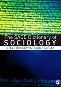 Portada del libro The Sage dictionary of sociology